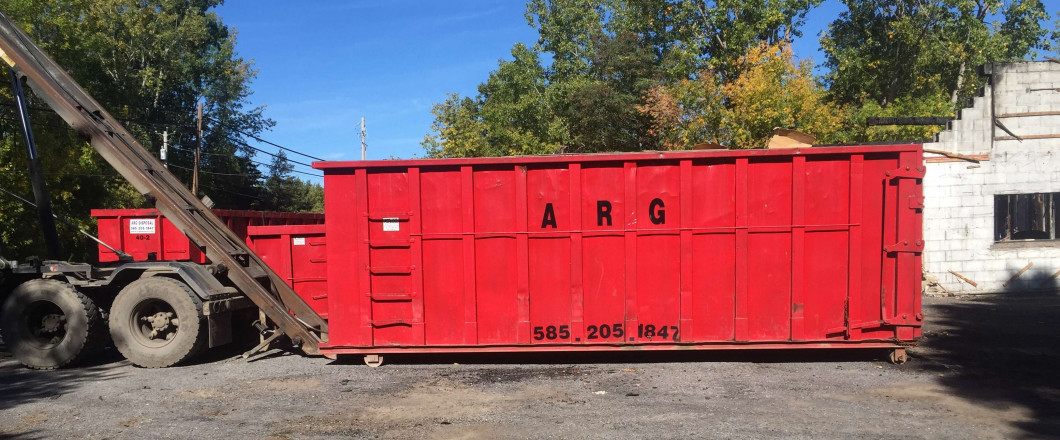 dumpster rental in Albion, NY